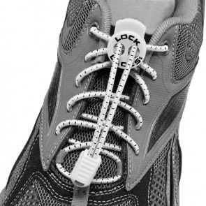 lock laces blanco cordones triatlon