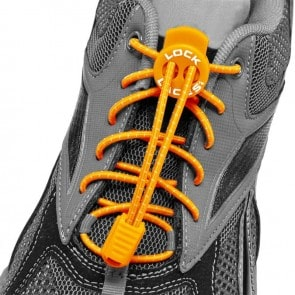 lock laces naranja cordones triatlon