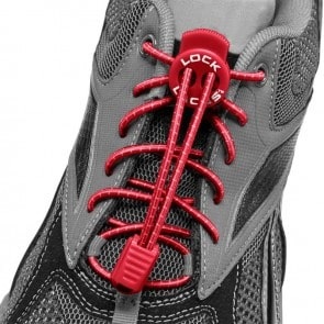 lock laces rojo cordones triatlon