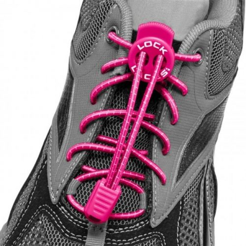lock laces rosado cordones triatlon