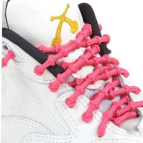 xtenex laces rosado cordones triatlon